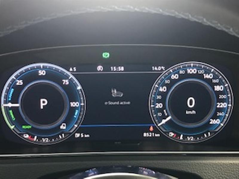 Volkswagen Golf 1.4 TSI 204ch Hybride Rechargeable GTE DSG6 Euro6d-T 5p Blanc occasion à LESCAR - photo n°9
