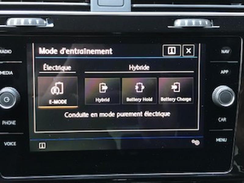 Volkswagen Golf 1.4 TSI 204ch Hybride Rechargeable GTE DSG6 Euro6d-T 5p Blanc occasion à LESCAR - photo n°12