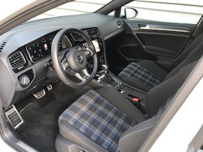 Volkswagen Golf 1.4 TSI 204ch Hybride Rechargeable GTE DSG6 Euro6d-T 5p Blanc occasion à LESCAR - photo n°2