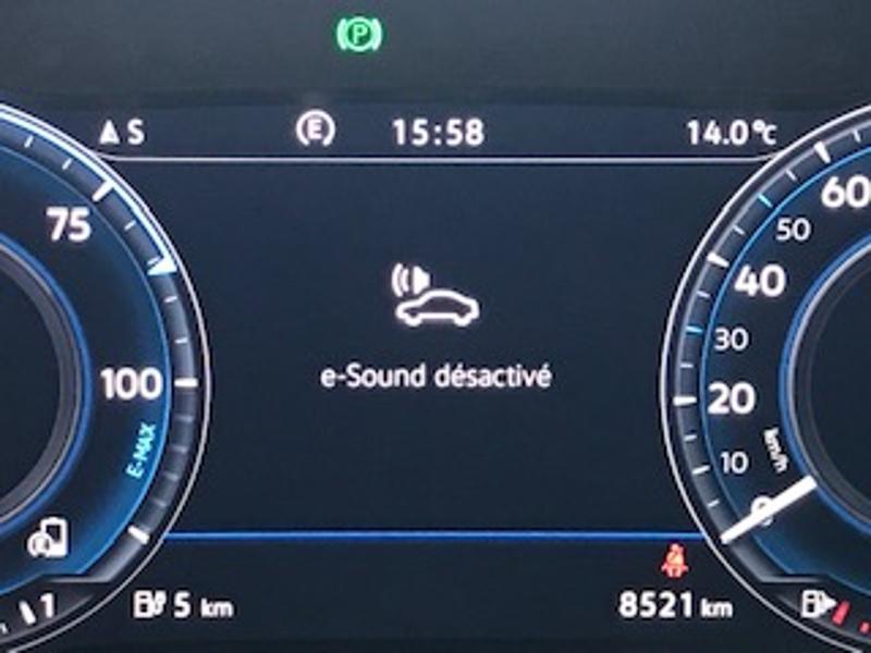 Volkswagen Golf 1.4 TSI 204ch Hybride Rechargeable GTE DSG6 Euro6d-T 5p Blanc occasion à LESCAR - photo n°8