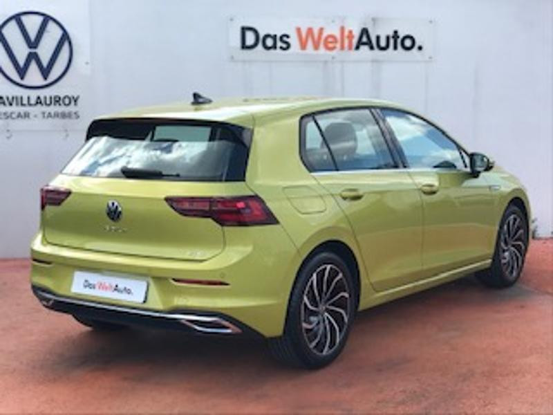 Volkswagen Golf 1.5 eTSI OPF 150ch Style 1st DSG7 Jaune occasion à LESCAR - photo n°3