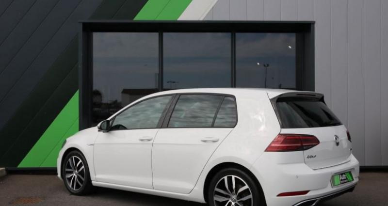 Volkswagen Golf 1.5 TSI 130 EVO DSG7 Carat Blanc occasion à Jaux - photo n°4