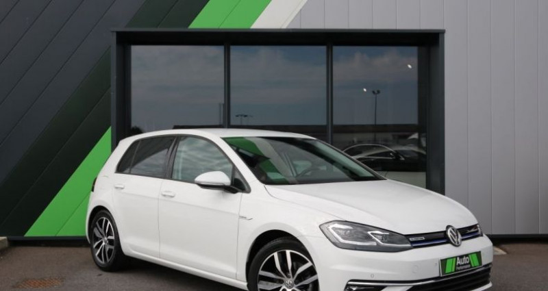 Volkswagen Golf 1.5 TSI 130 EVO DSG7 Carat Blanc occasion à Jaux - photo n°2