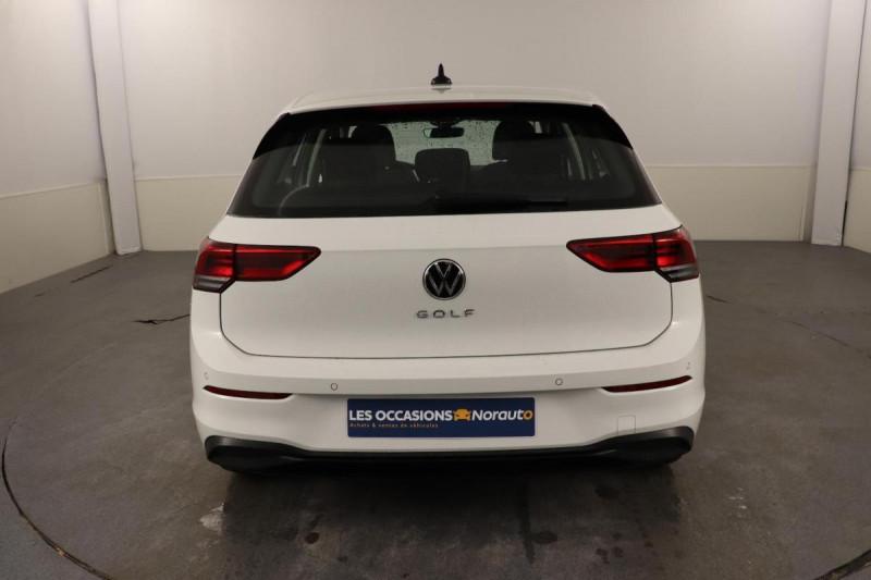 Volkswagen Golf 1.5 TSI ACT OPF 130 BVM6 Life 1st Blanc occasion à Brest - photo n°4