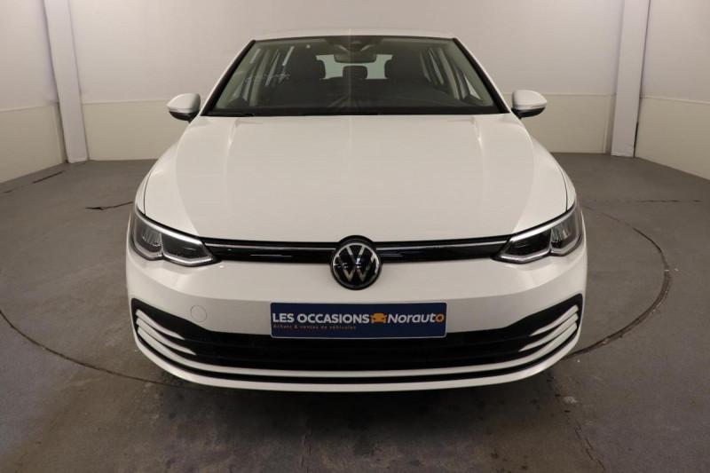Volkswagen Golf 1.5 TSI ACT OPF 130 BVM6 Life 1st Blanc occasion à Brest - photo n°2