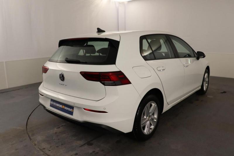 Volkswagen Golf 1.5 TSI ACT OPF 130 BVM6 Life 1st Blanc occasion à Brest - photo n°3