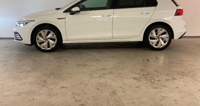 Volkswagen Golf 1.5 TSI ACT OPF 130ch Style 1st Blanc occasion à Nice - photo n°3