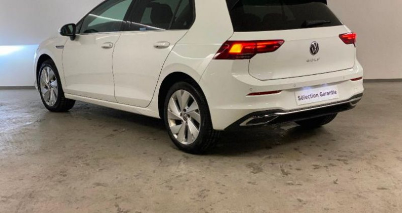 Volkswagen Golf 1.5 TSI ACT OPF 130ch Style 1st Blanc occasion à Nice - photo n°4