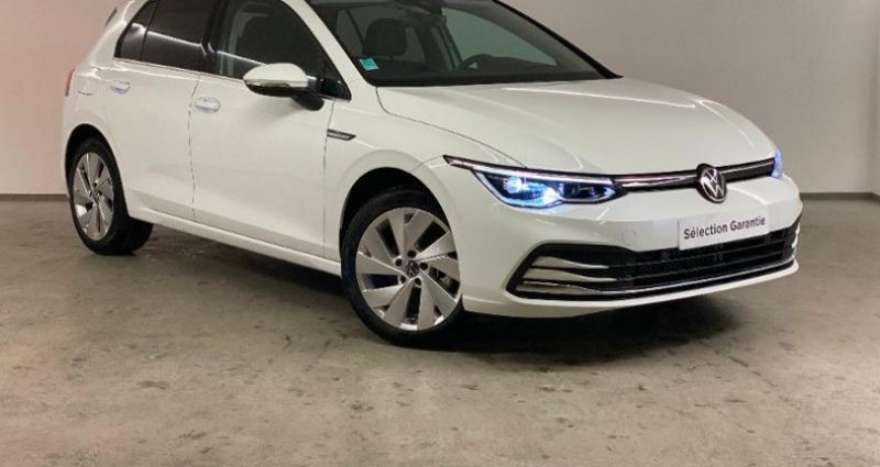 Volkswagen Golf 1.5 TSI ACT OPF 130ch Style 1st Blanc occasion à Nice