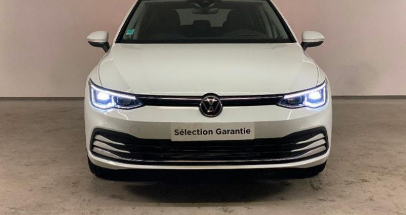 Volkswagen Golf 1.5 TSI ACT OPF 130ch Style 1st Blanc occasion à Nice - photo n°2