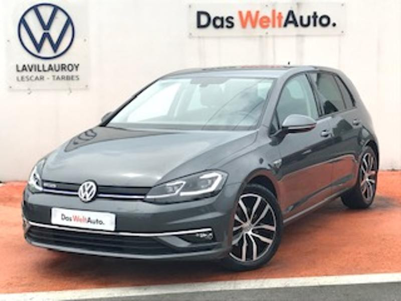 Volkswagen Golf 1.5 TSI EVO 150ch Carat DSG7 Euro6d-T 5p 8cv Gris occasion à LESCAR
