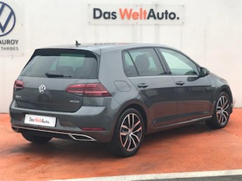 Volkswagen Golf 1.5 TSI EVO 150ch Carat DSG7 Euro6d-T 5p 8cv Gris occasion à LESCAR - photo n°3