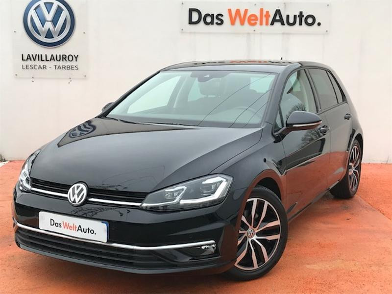 Volkswagen Golf 1.5 TSI EVO 150ch IQ.Drive DSG7 Euro6d-T 5p Noir occasion à LESCAR