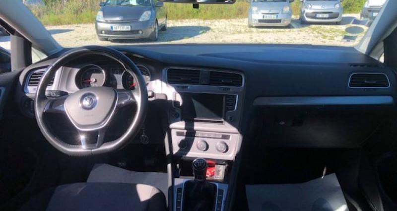 Volkswagen Golf 1.6 TDI 105 CONFORTLINE Gris occasion à La Buisse - photo n°7