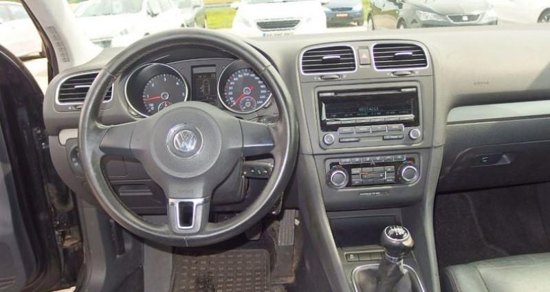 Volkswagen Golf 1.6 TDI 105CH BLUEMOTION FAP  5P Noir occasion à FONTAINE LES GRES - photo n°5