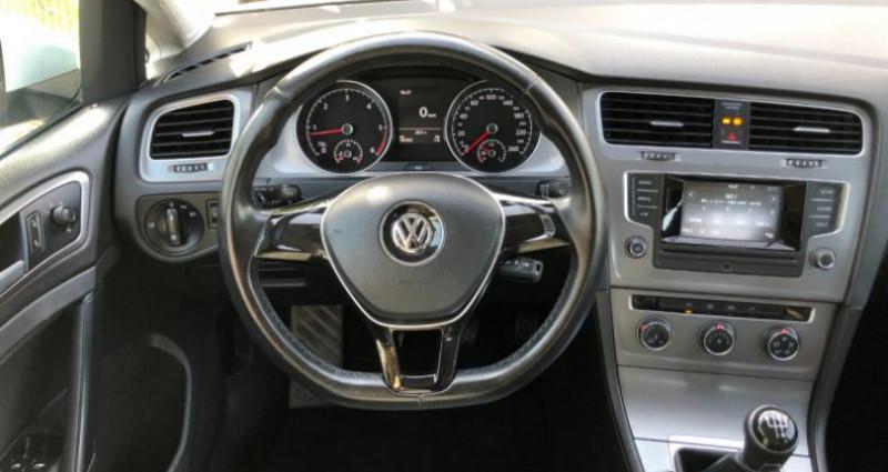 Volkswagen Golf 1.6 TDI 105CH BLUEMOTION TECHNOLOGY FAP TRENDLINE 5P Blanc occasion à COLMAR - photo n°7