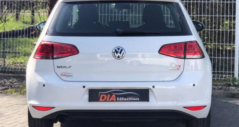 Volkswagen Golf 1.6 TDI 105CH BLUEMOTION TECHNOLOGY FAP TRENDLINE 5P Blanc occasion à COLMAR - photo n°6