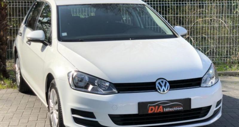 Volkswagen Golf 1.6 TDI 105CH BLUEMOTION TECHNOLOGY FAP TRENDLINE 5P Blanc occasion à COLMAR