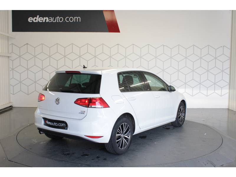 Volkswagen Golf 1.6 TDI 110 BlueMotion Technology FAP MATCH  occasion à TARBES - photo n°3