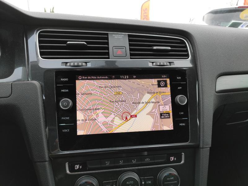 Volkswagen Golf 1.6 TDI 115ch BlueMotion Technology FAP Confortline Business Gris occasion à Onet-le-Château - photo n°9
