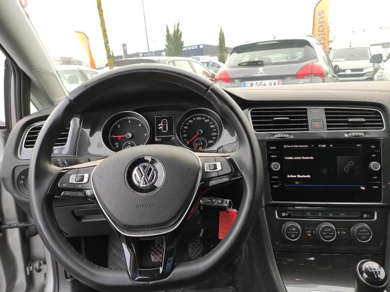 Volkswagen Golf 1.6 TDI 115ch BlueMotion Technology FAP Confortline Business Gris occasion à Onet-le-Château - photo n°6