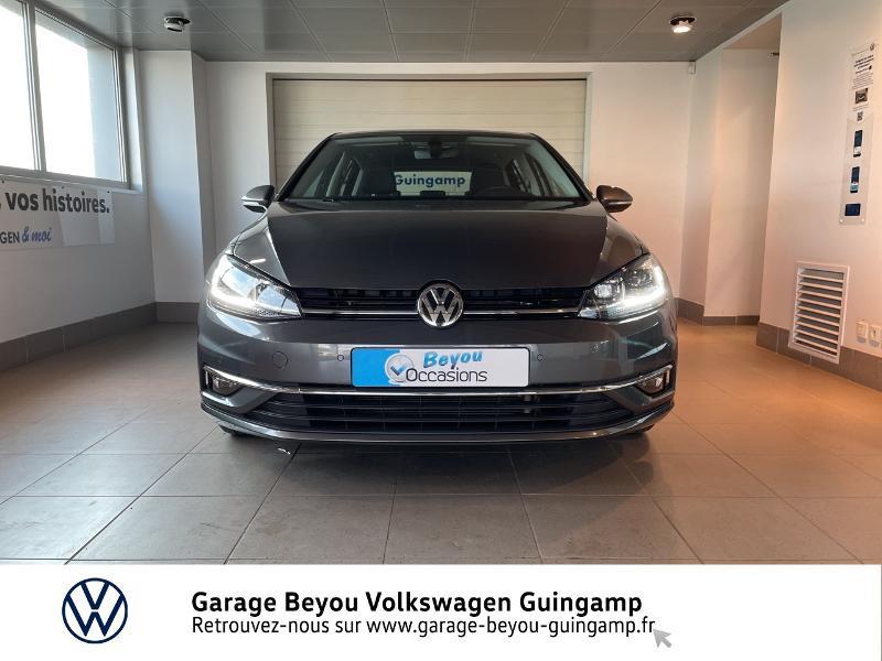 Volkswagen Golf 1.6 TDI 115ch FAP Carat DSG7 Euro6d-T 5p  occasion à Saint Agathon - photo n°5