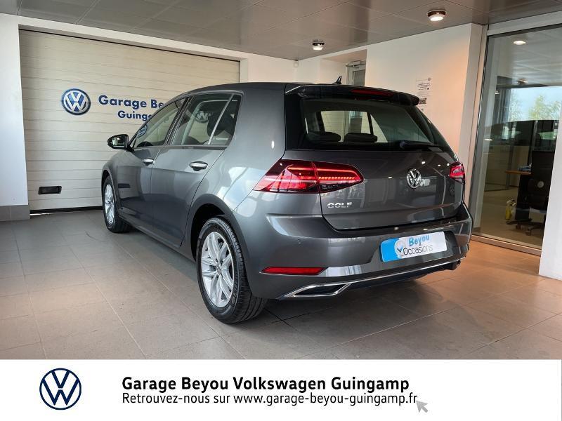 Volkswagen Golf 1.6 TDI 115ch FAP Carat DSG7 Euro6d-T 5p  occasion à Saint Agathon - photo n°3