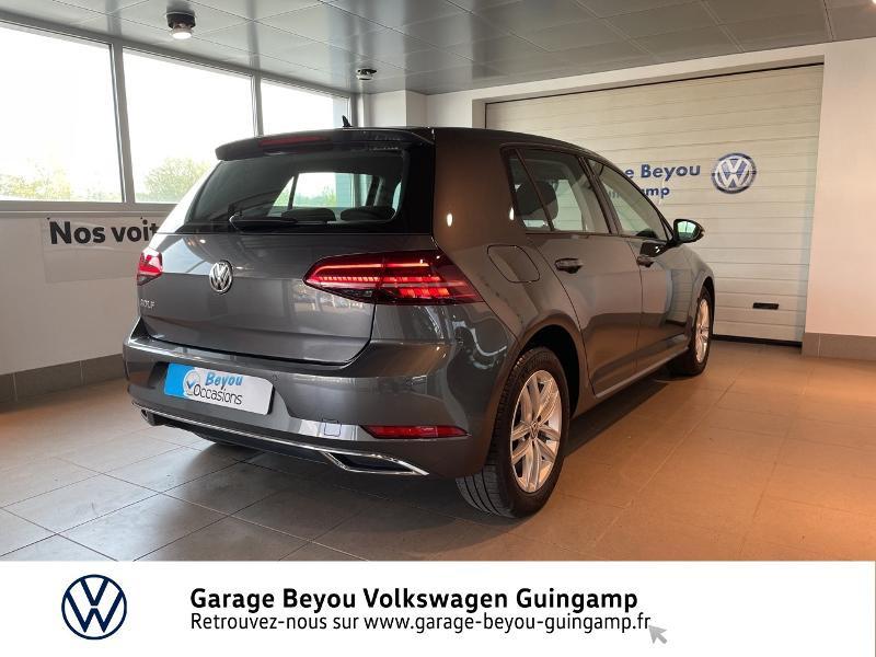 Volkswagen Golf 1.6 TDI 115ch FAP Carat DSG7 Euro6d-T 5p  occasion à Saint Agathon - photo n°4