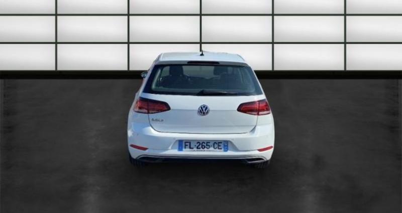 Volkswagen Golf 1.6 TDI 115ch FAP Confortline 5p Blanc occasion à La Rochelle - photo n°4