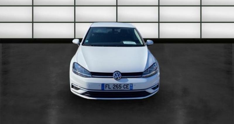 Volkswagen Golf 1.6 TDI 115ch FAP Confortline 5p Blanc occasion à La Rochelle - photo n°2