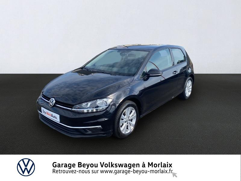 Volkswagen Golf 1.6 TDI 115ch FAP Confortline Business 3p Noir occasion à Saint-Martin-des-Champs