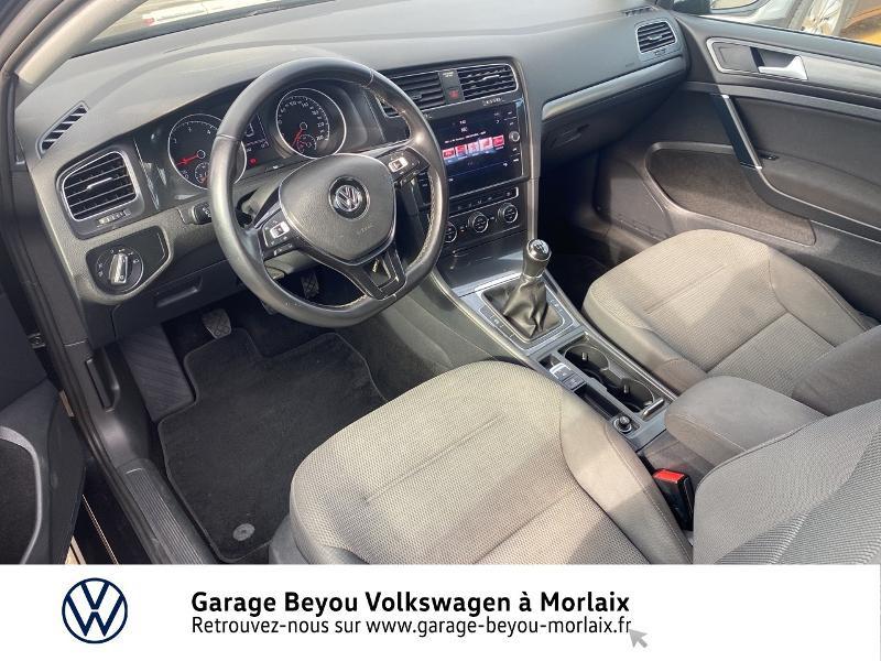 Volkswagen Golf 1.6 TDI 115ch FAP Confortline Business 3p Noir occasion à Saint-Martin-des-Champs - photo n°6