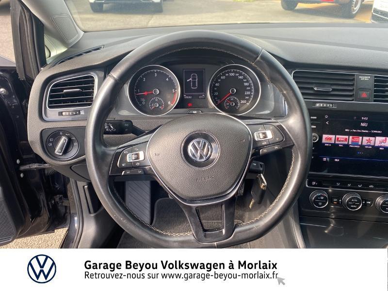 Volkswagen Golf 1.6 TDI 115ch FAP Confortline Business 3p Noir occasion à Saint-Martin-des-Champs - photo n°7