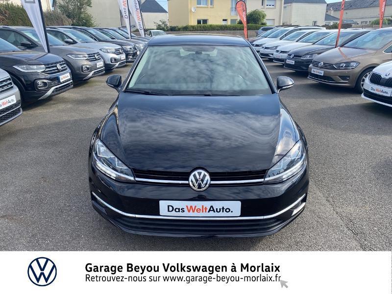 Volkswagen Golf 1.6 TDI 115ch FAP Confortline Business 3p Noir occasion à Saint-Martin-des-Champs - photo n°5