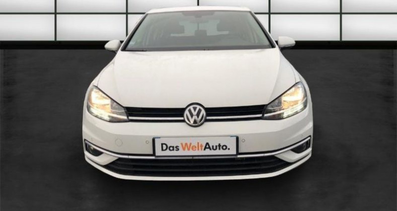 Volkswagen Golf 1.6 TDI 115ch FAP Confortline Business Euro6d-T 5p Blanc occasion à La Rochelle - photo n°2