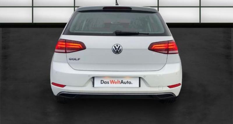 Volkswagen Golf 1.6 TDI 115ch FAP Confortline Business Euro6d-T 5p Blanc occasion à La Rochelle - photo n°4