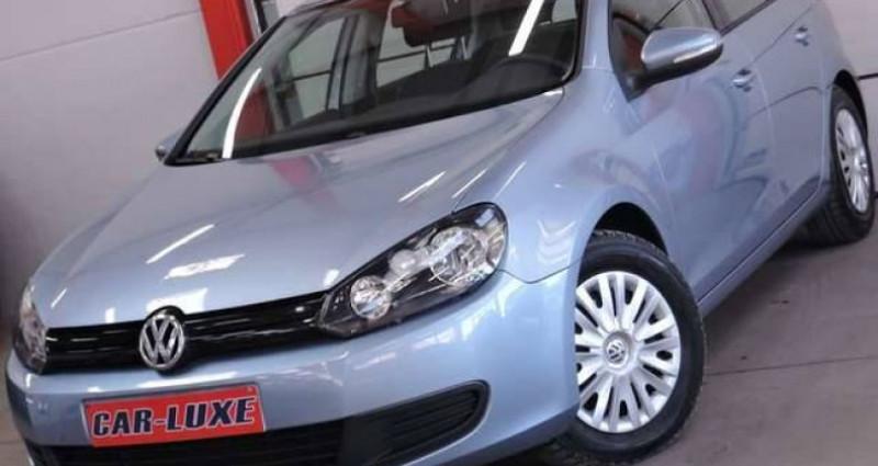 Volkswagen Golf 1.6 TDI 1O5CV CLIMATISATION GRAND GPS GARANTIE 1AN Bleu occasion à Sombreffe