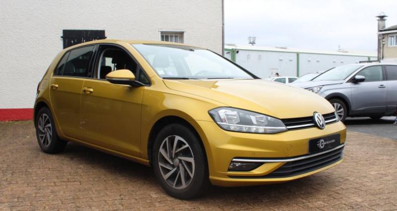 Volkswagen Golf 110ch BlueMotion Technology Sound Jaune occasion à COIGNIERES