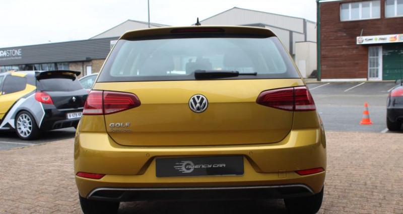 Volkswagen Golf 110ch BlueMotion Technology Sound Jaune occasion à COIGNIERES - photo n°3