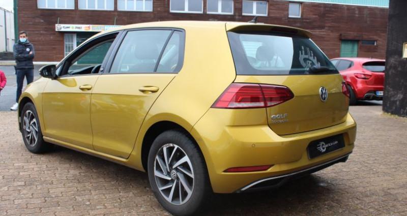 Volkswagen Golf 110ch BlueMotion Technology Sound Jaune occasion à COIGNIERES - photo n°5