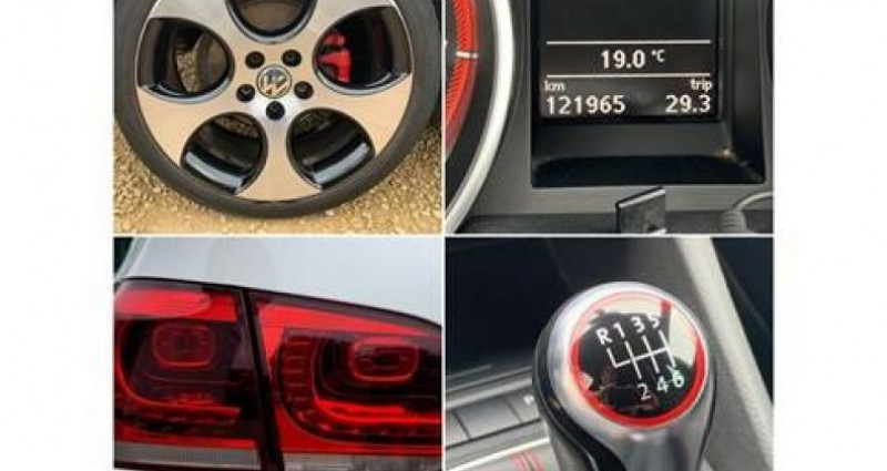 Volkswagen Golf 2.0 GTI 210PK TSI,LED XENON golf7,UNIEK Noir occasion à Kuurne - photo n°5
