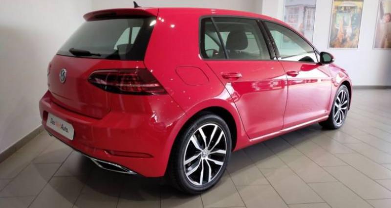 Volkswagen Golf 2.0 TDI 150 FAP DSG7 Carat Rouge occasion à LADOIX-SERRIGNY - photo n°3