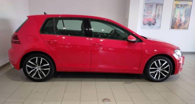 Volkswagen Golf 2.0 TDI 150 FAP DSG7 Carat Rouge occasion à LADOIX-SERRIGNY - photo n°2