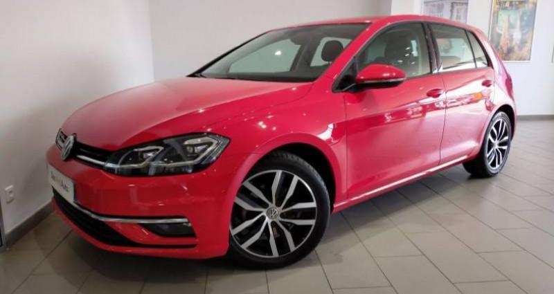 Volkswagen Golf 2.0 TDI 150 FAP DSG7 Carat Rouge occasion à LADOIX-SERRIGNY