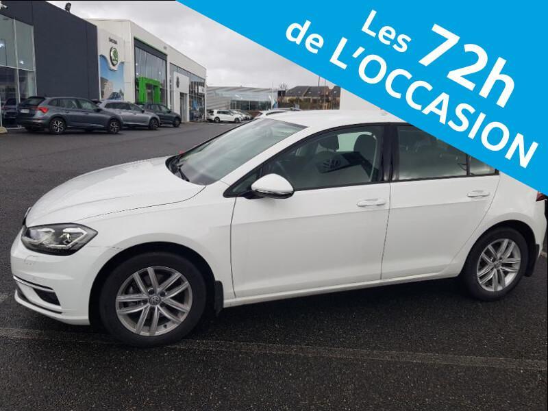 Volkswagen Golf 2.0 TDI 150ch BlueMotion Technology FAP Carat DSG7 5p Blanc occasion à Onet-le-Château