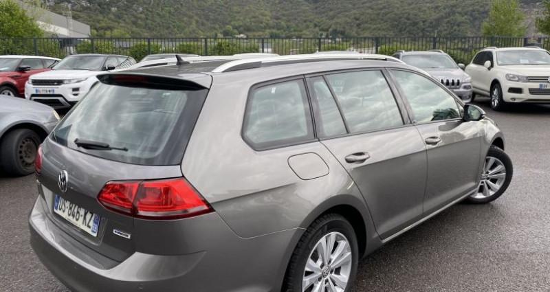 Volkswagen Golf 2.0 TDI 150CH BLUEMOTION TECHNOLOGY FAP CONFORTLINE Gris occasion à VOREPPE - photo n°3