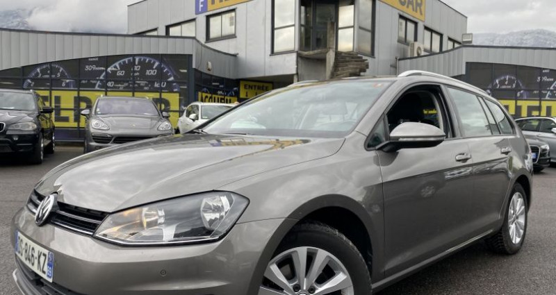 Volkswagen Golf 2.0 TDI 150CH BLUEMOTION TECHNOLOGY FAP CONFORTLINE Gris occasion à VOREPPE