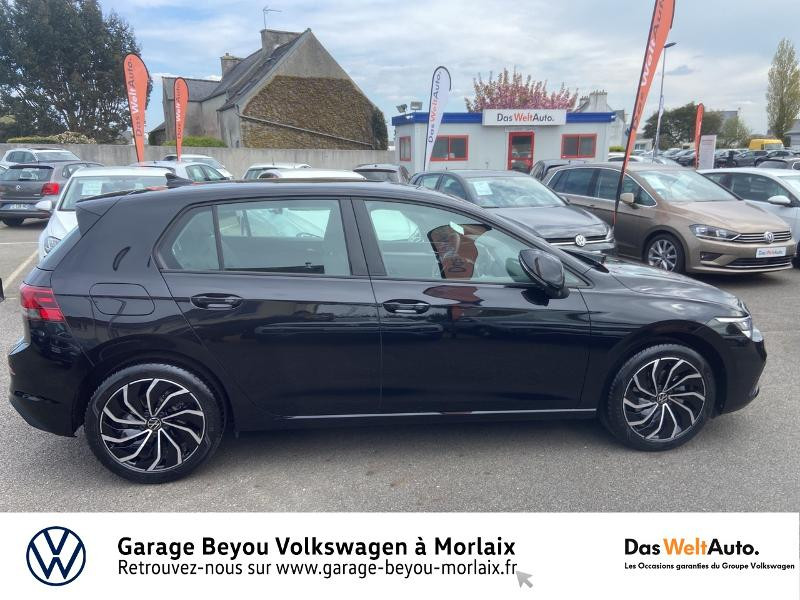 Volkswagen Golf 2.0 TDI SCR 115ch Life 1st Noir occasion à Morlaix - photo n°4
