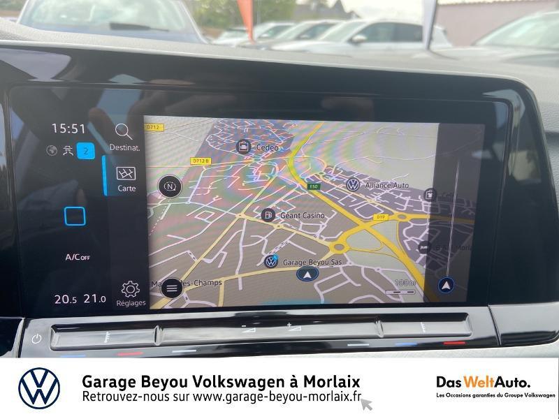 Volkswagen Golf 2.0 TDI SCR 115ch Life 1st Noir occasion à Morlaix - photo n°8
