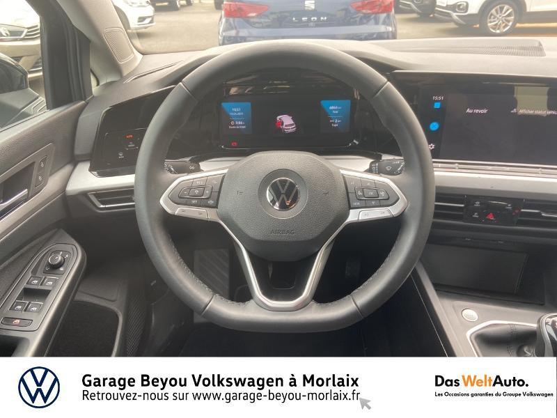 Volkswagen Golf 2.0 TDI SCR 115ch Life 1st Noir occasion à Morlaix - photo n°7